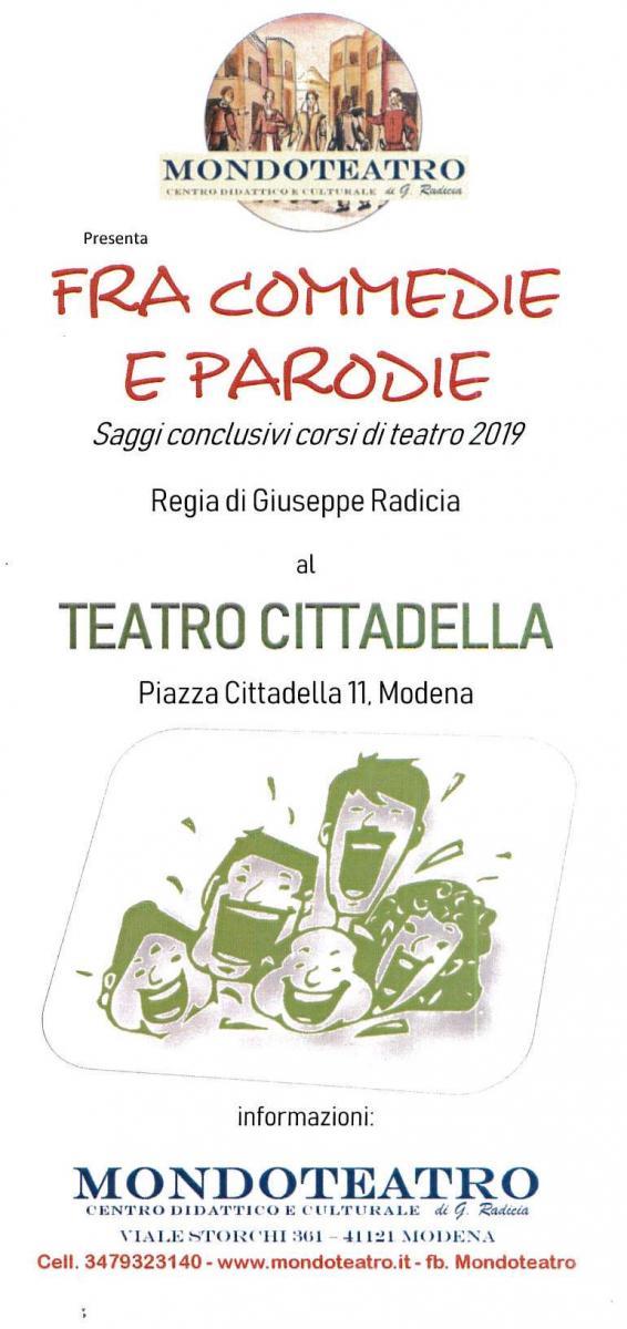 opuscolo saggi Mondoteatro - copertina